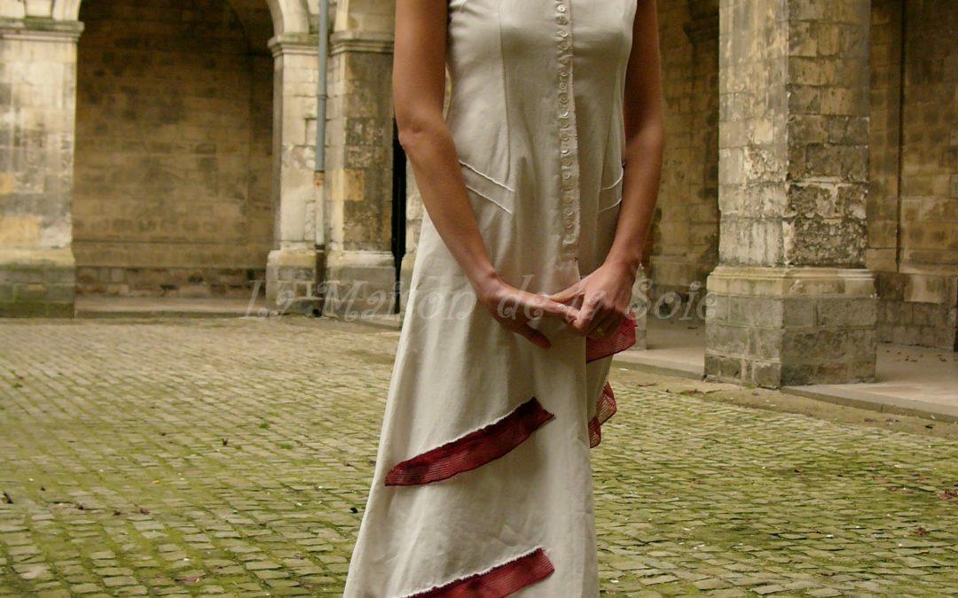 Création d'une robe longue