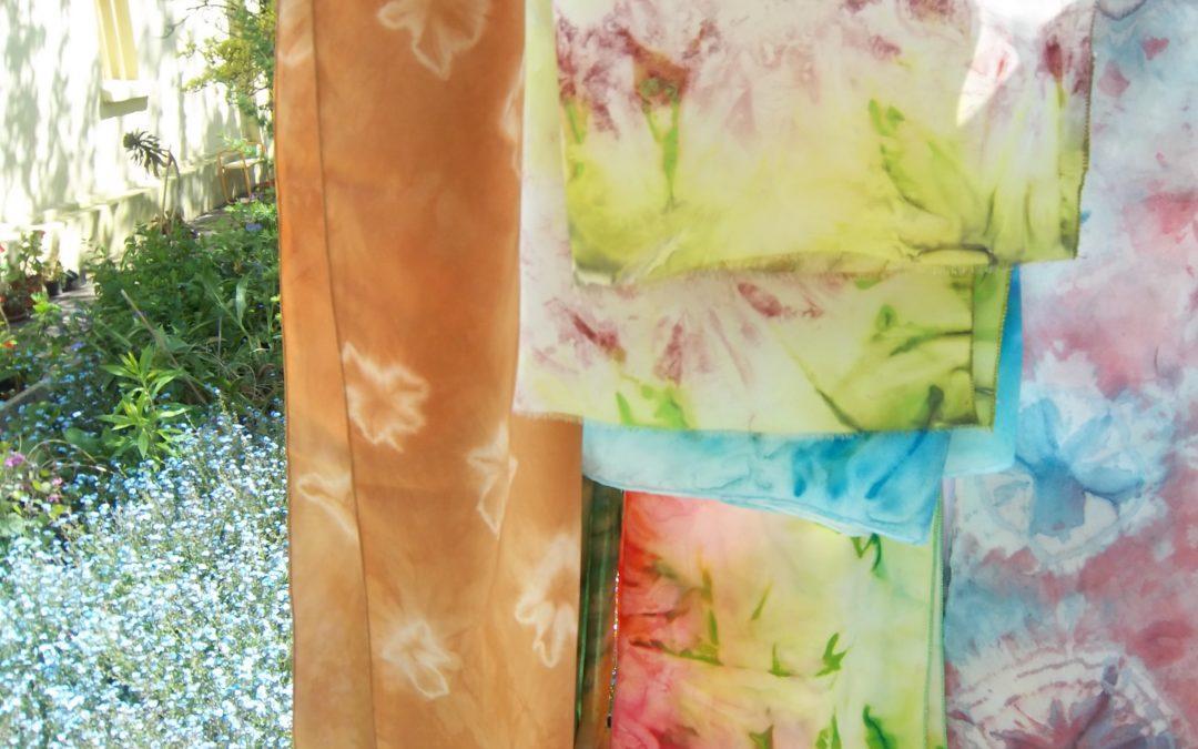 Foulards création artisanale